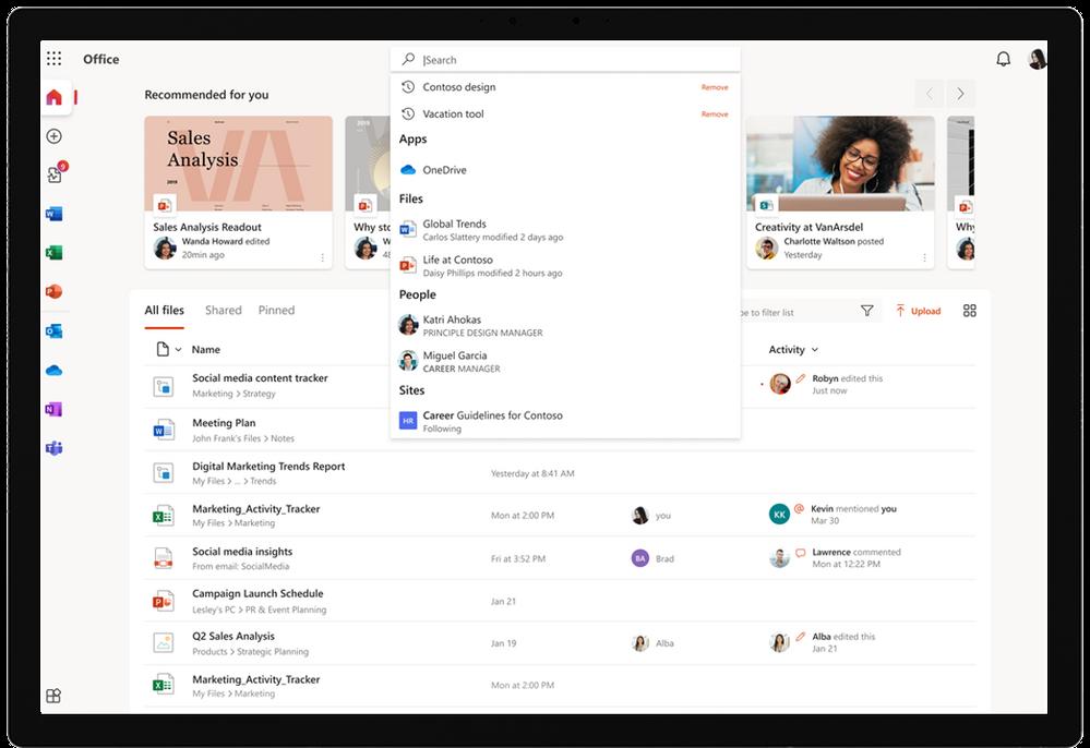 Microsoft Search in Office.com