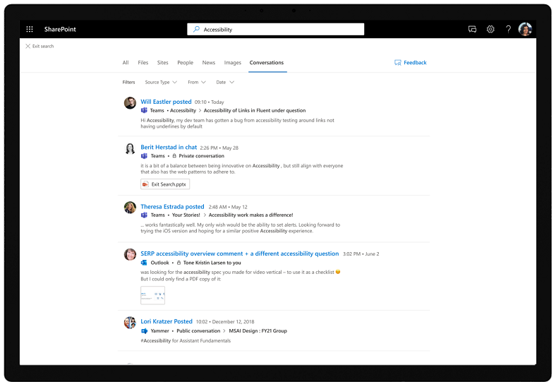 Search for a conversation in SharePoint and Office3.png