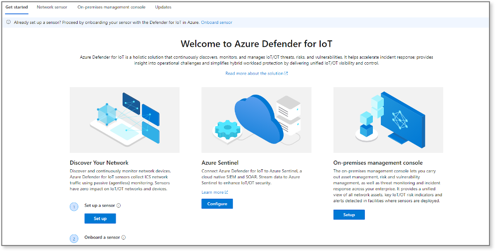 Visit Azure Defender for IoT in the Azure portal in October to try it for yourself