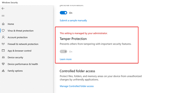 View tamper protection status in Windows Security.png