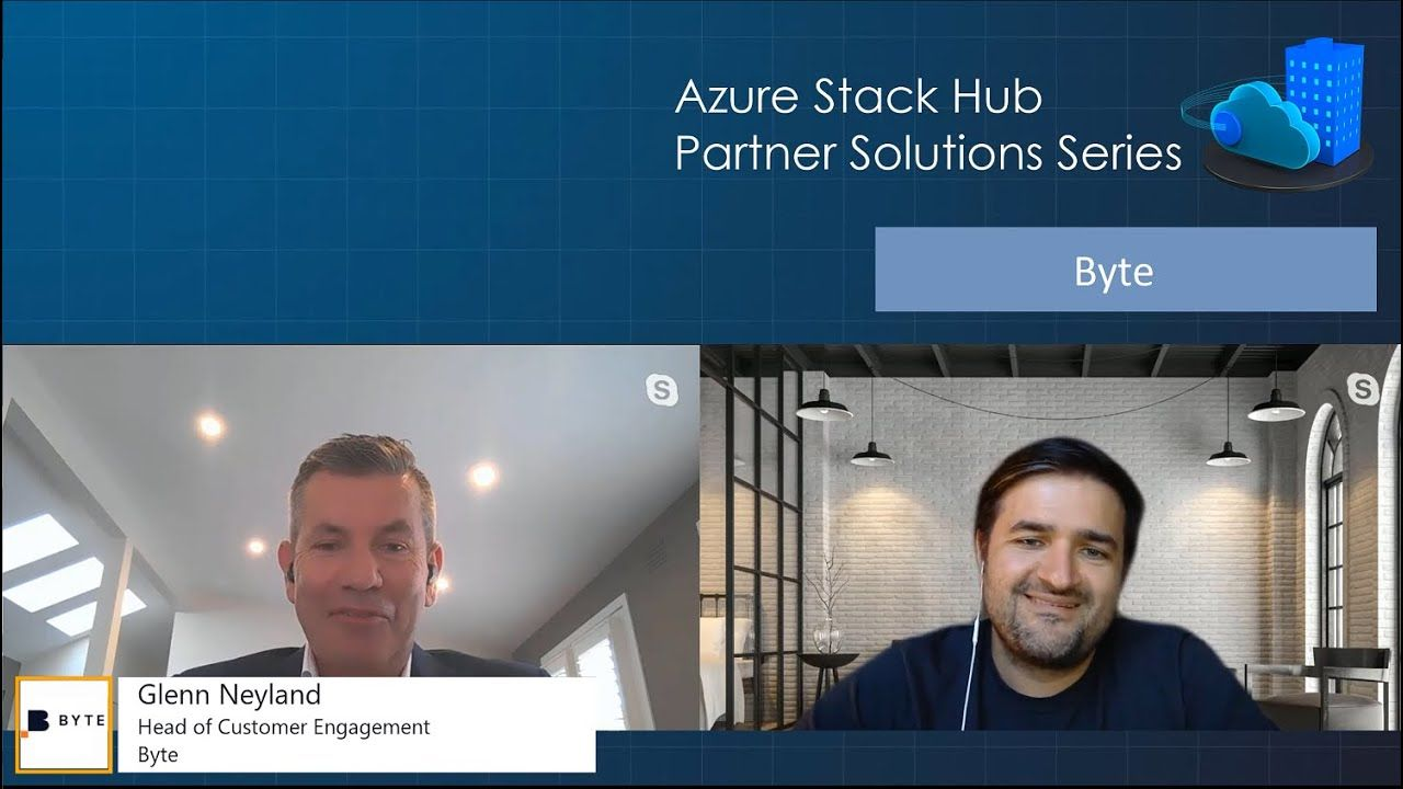 Azure Stack Hub Partner Solutions Series - Byte