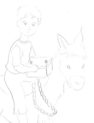 Original drawing by my wife Jane.