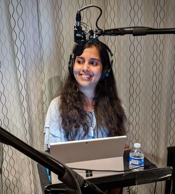 Ankita Kirti, product marketing manager (OneDrive / Microsoft) – taken during a Sync Up recording pre-COVID [Intrazone guest]