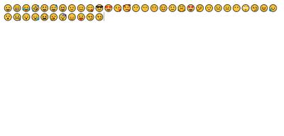 Emojis when Segoe UI Emoji is set as default
