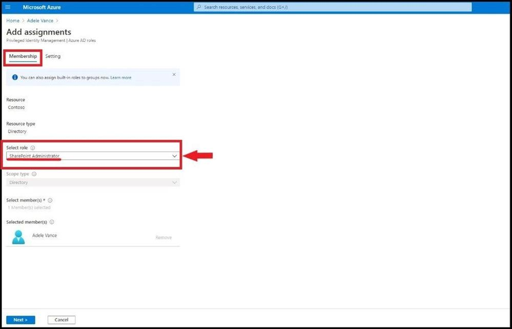 Adding SharePoint Admin