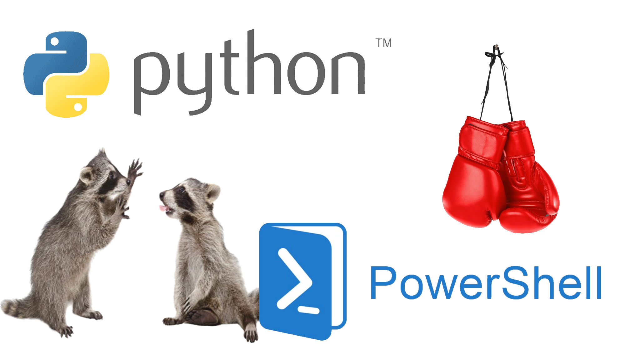 The Syntax Difference Between Python and PowerShell