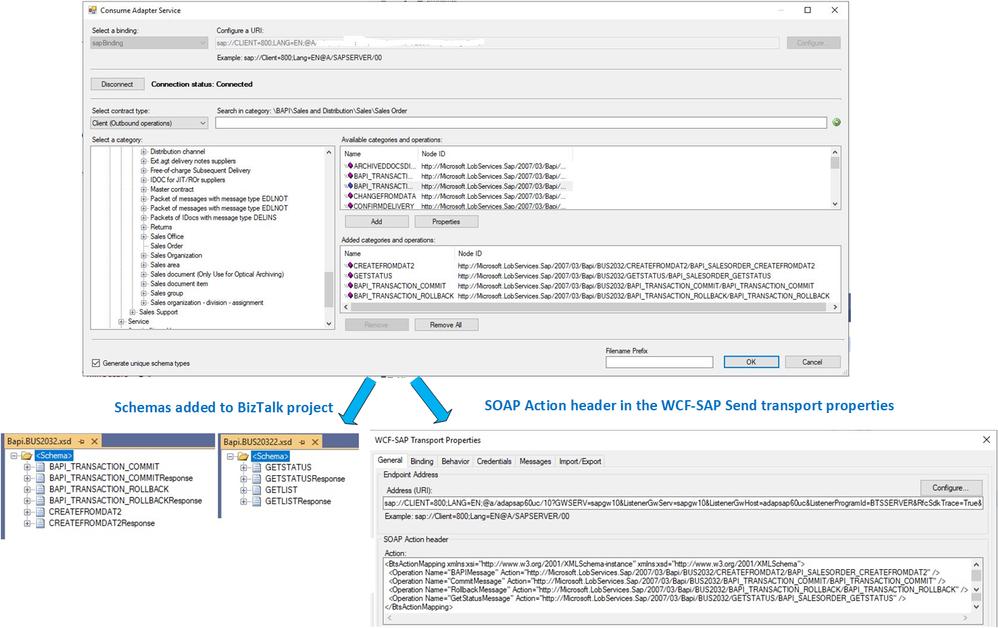 Getting Metadata from SAP in Visual Studio