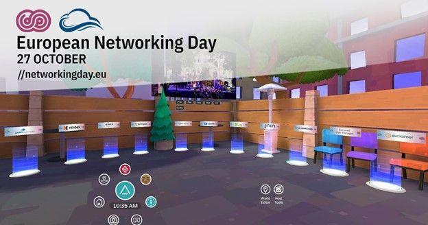 Join in the European Networking Day, one filled with networking, a concert, and prizes - delivered completely via VR.