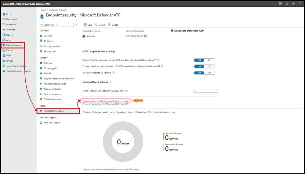 Setting up Microsoft Defender for Endpoint in MEM