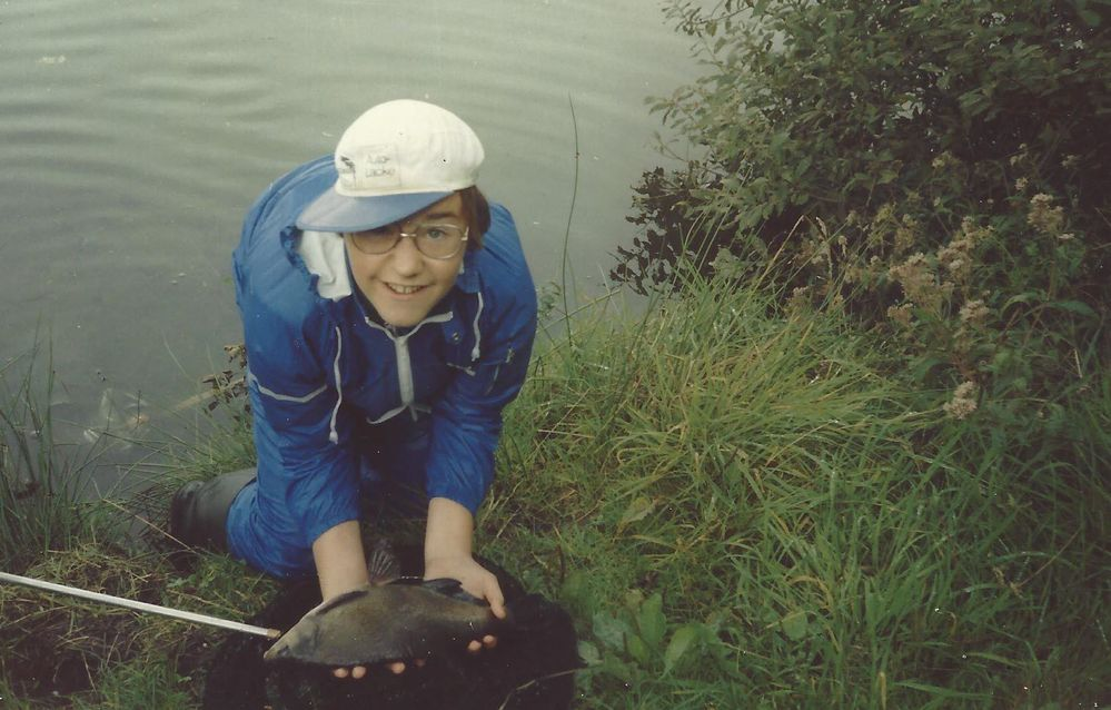 Picture of me catching my first 50 cm bream