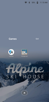 Fig 1. Home screen