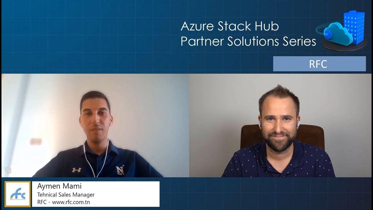 Azure Stack Hub Partner Solutions Series - RFC
