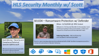 S01E04 - Ransomware Protection with Defender - Cover Slide.png