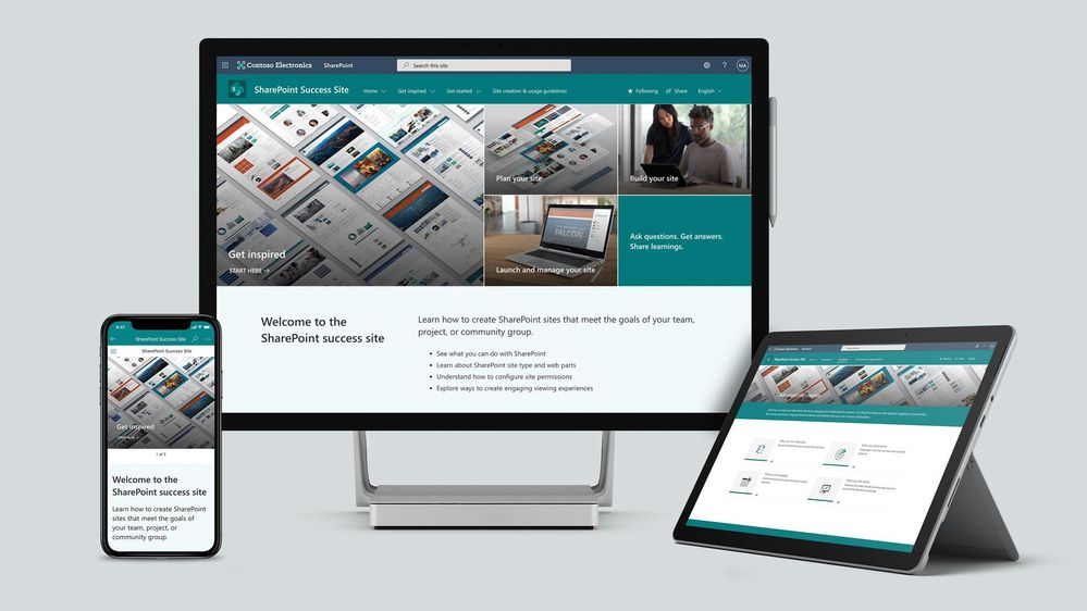 Introducing the SharePoint Success Site – Drive adoption and get the most out of SharePoint