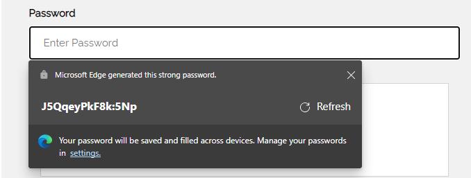 Password Generator Snip 1