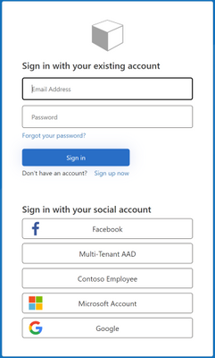 Azure AD B2C SignUp