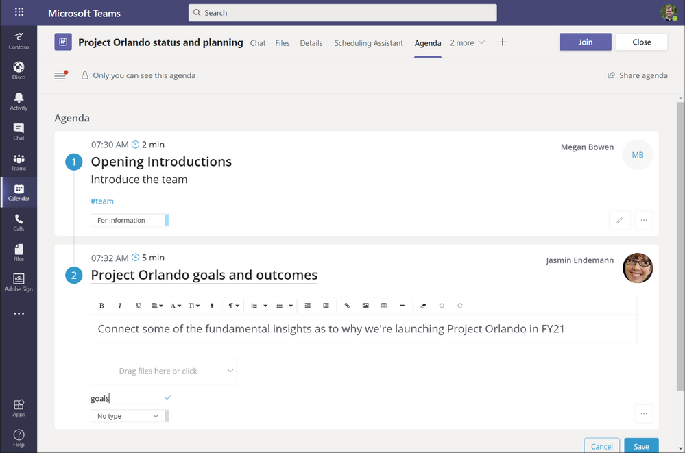 thumbnail image 2 of blog post titled  4 ways to deliver better meetings with apps in Microsoft Teams