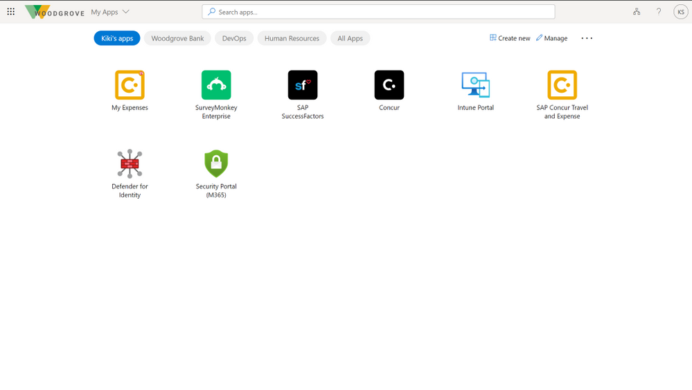 User collections - My Apps.PNG