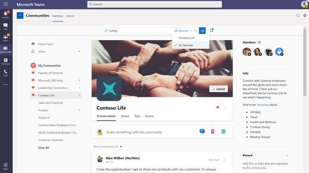 thumbnail image 7 of blog post titled              What's New in Microsoft Teams | December 2020