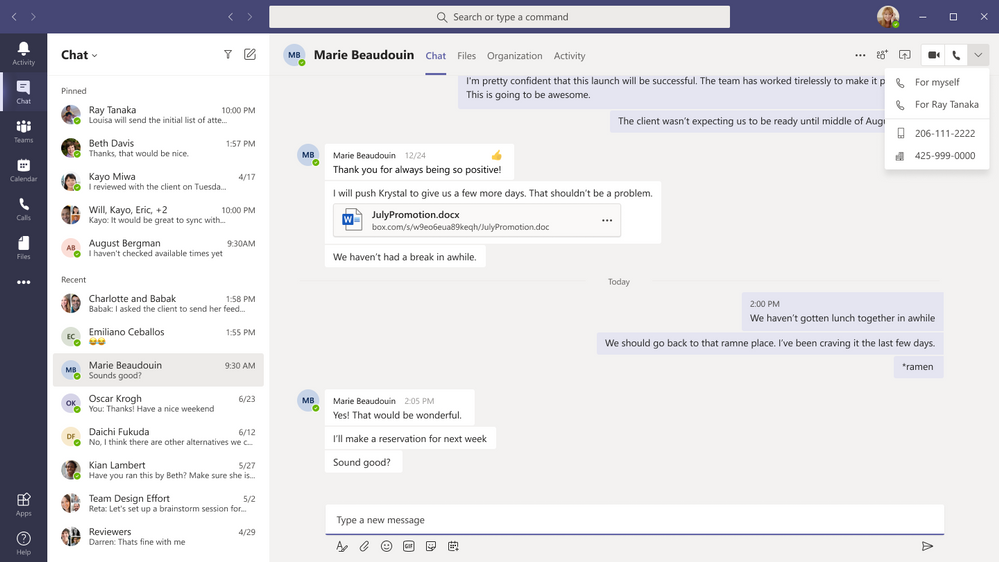 thumbnail image 3 of blog post titled What's New in Microsoft Teams | December 2020