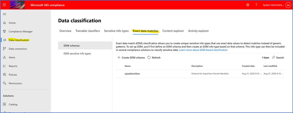 Enhancements to Microsoft Exact Data Match