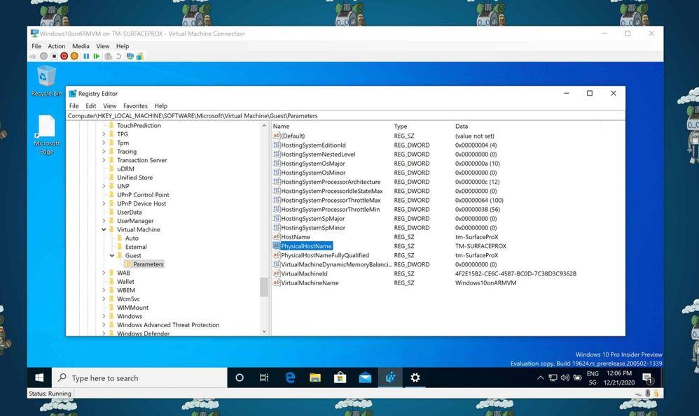 Find the Hostname of a Hyper-V VM in Registry