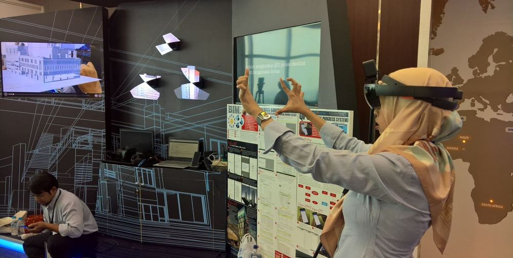 My first Mixed Reality project involving BIM MR experience