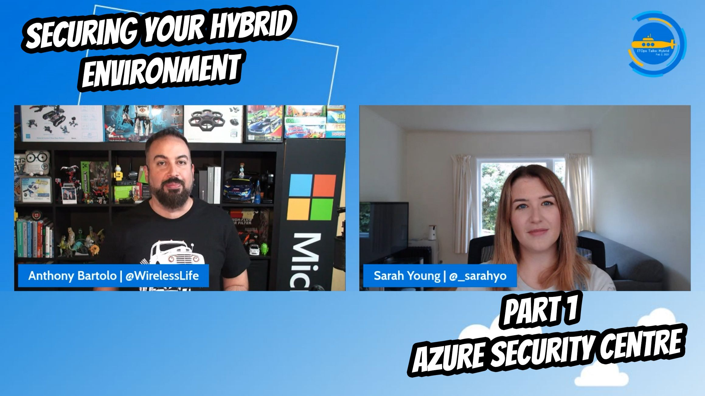 OPS101: Securing your Hybrid environment - Part 1 - Azure Security Center