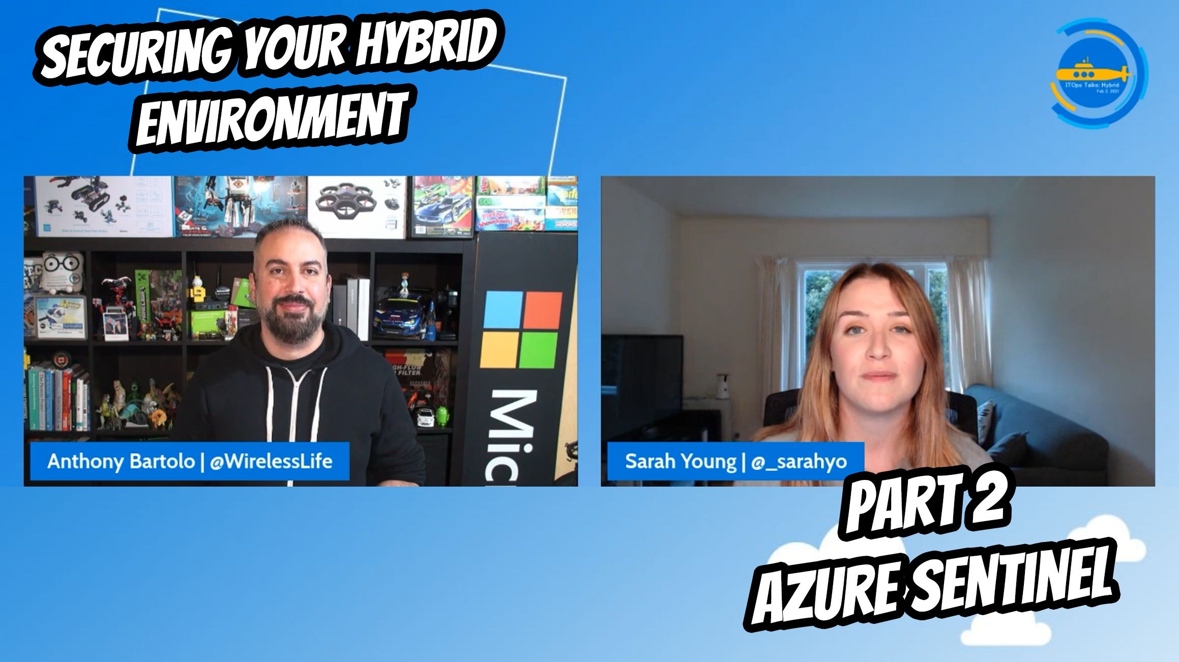 OPS103: Securing your Hybrid environment - Part 2 - Azure Sentinel
