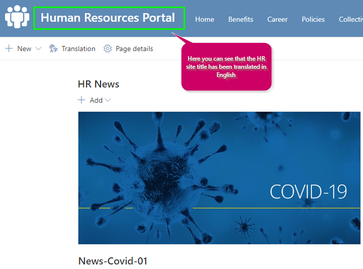 2021-01-28 13_03_24-Human Resources Portal - Home - Bestar- M365 Test 01 En - Microsoft​ Edge.png