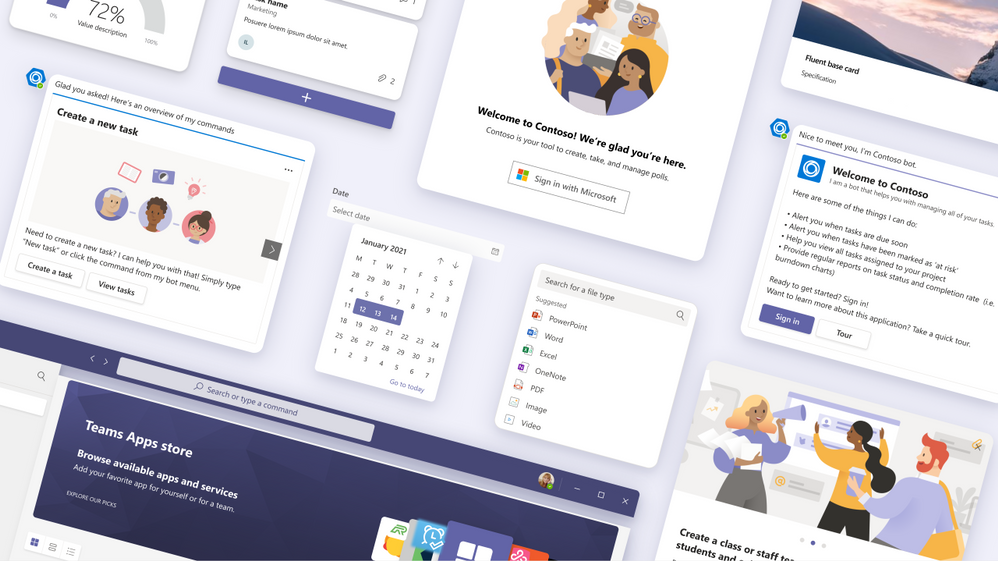 thumbnail image 13 of blog post titled  	 	 	  	 	 	 				 		 			 				 						 							What's New in Microsoft Teams | January 2021