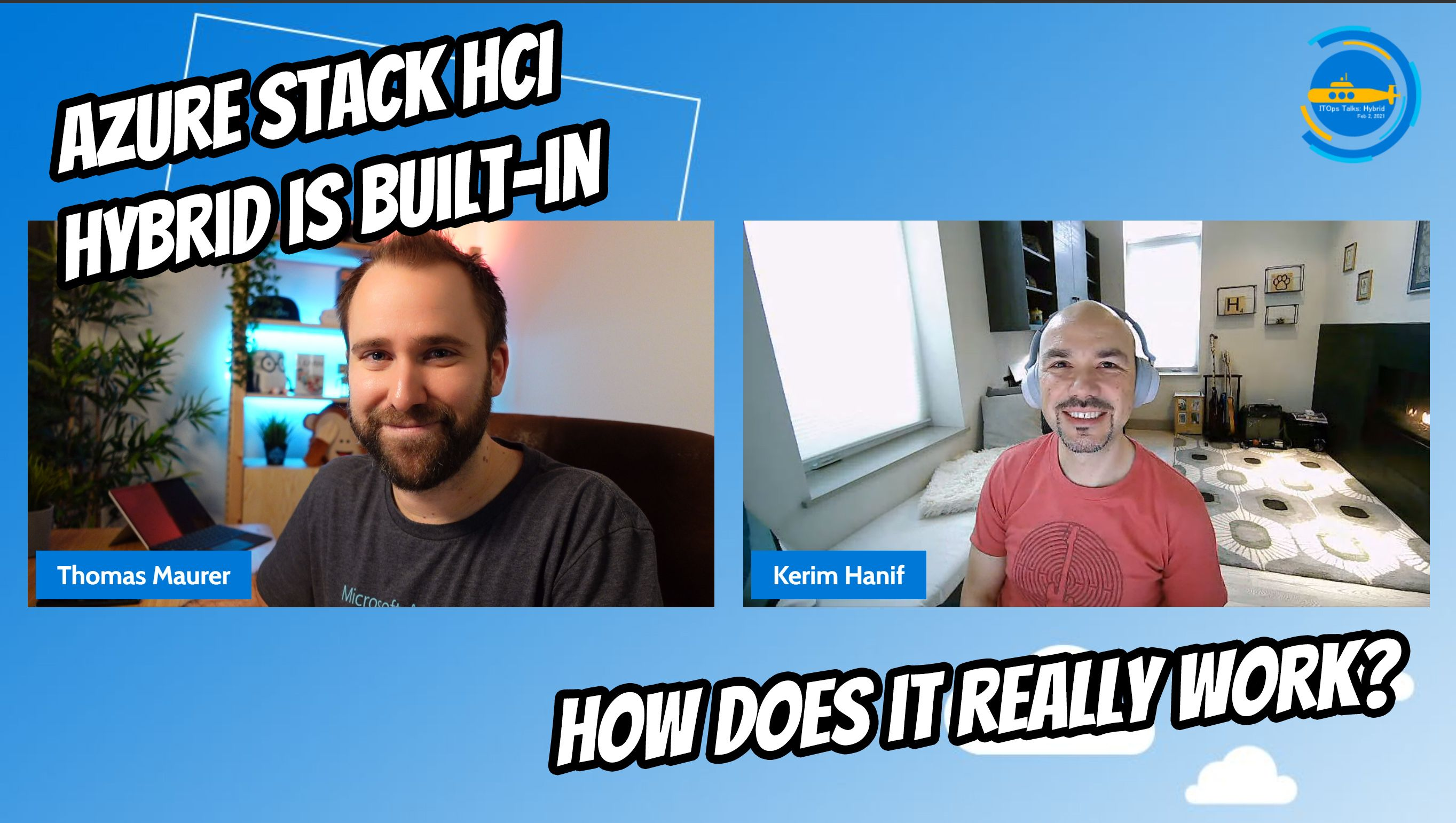 OPS112: Azure Stack HCI Hybrid is built-in: How does it really work?
