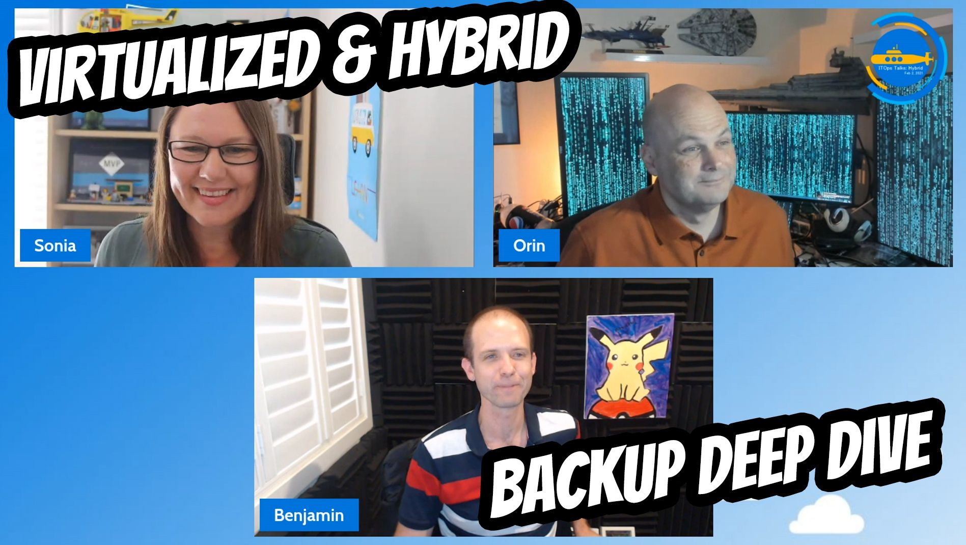 OPS105: Virtualized and Hybrid Backup Deep Dive