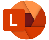 thumbnail image 1 captioned Microsoft Lens logo