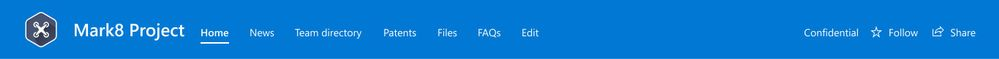 SharePoint Compact site header