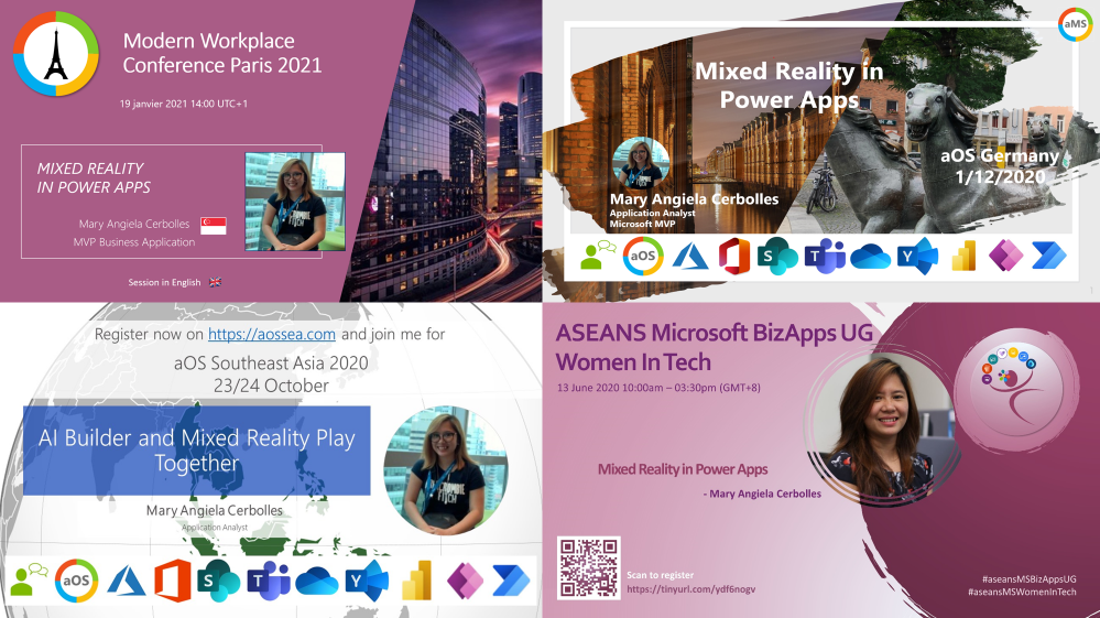 My Mixed Reality in Power Apps Presentations