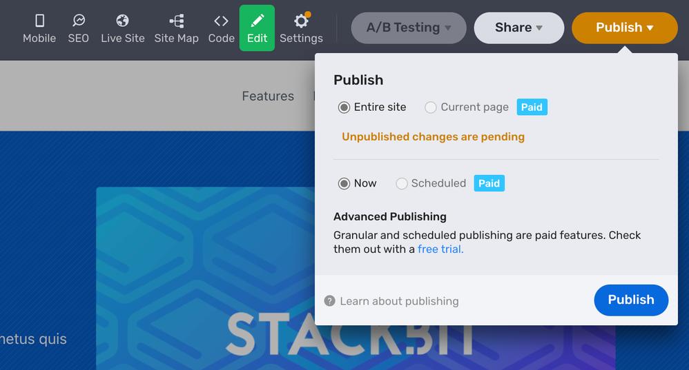 Publish to Azure Static Web Apps