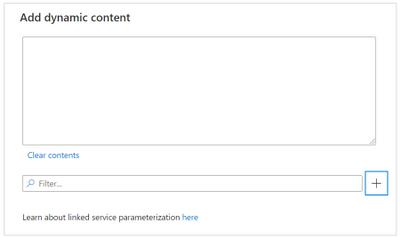 Add dynamic content window