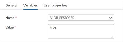 """""""Set V_DR_RESTORED to true"""" settings"""