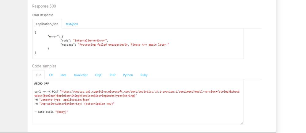 Code Samples