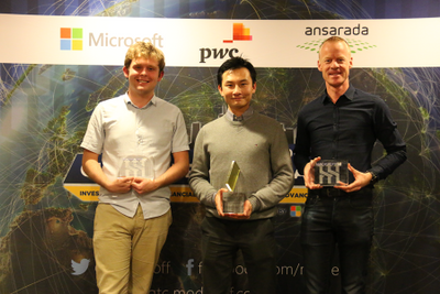 Excel competition winners
