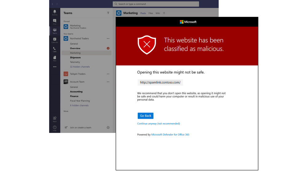 thumbnail image 5 of blog post titled Secure and compliant collaboration with Microsoft Teams