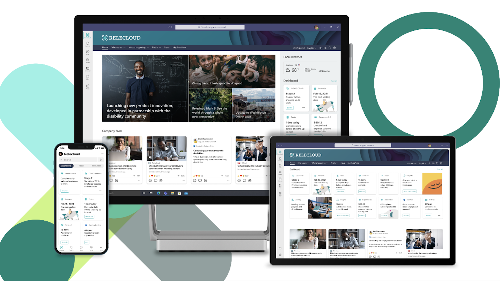 Microsoft Viva Connections will be available to all customers as part of their existing SharePoint license.