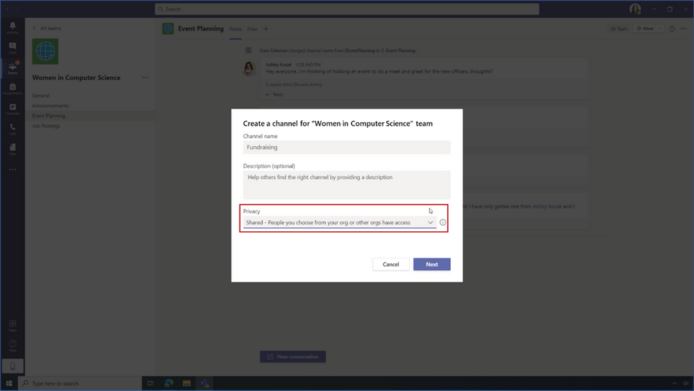 thumbnail image 6 of blog post titled What's New in Microsoft Teams for Education | February 2021