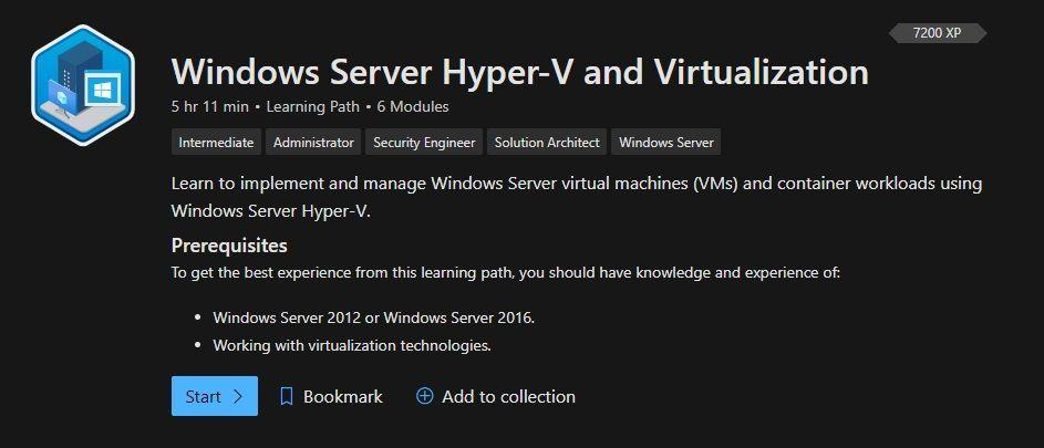 Windows Server Hyper-V and Virtualization
