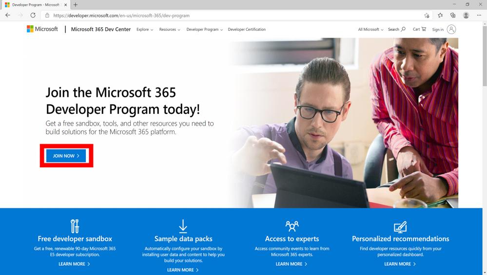 Microsoft Graph Toolkit - Join Microsoft 365 Developer Program v2.png