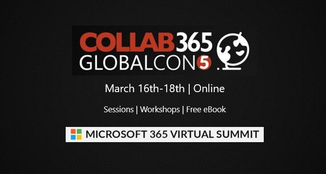 GlobalCon5 – March 16-18, 2021 (online training)