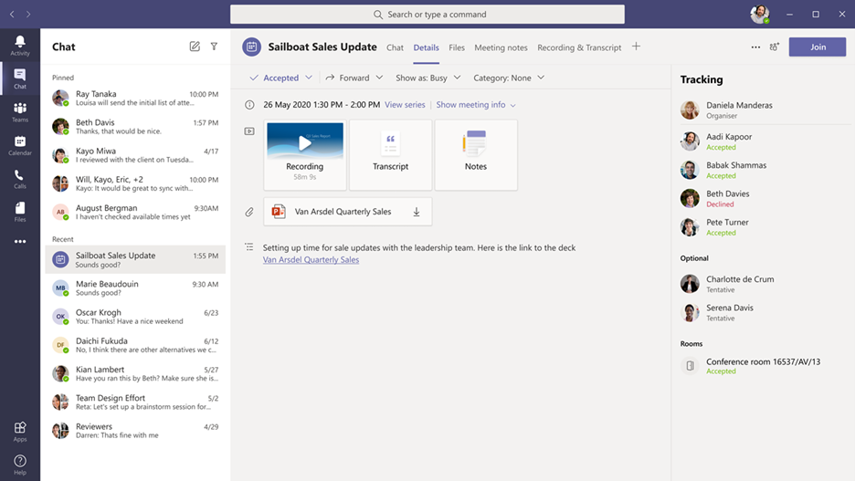 thumbnail image 1 of blog post titled  	 	 	  	 	 	 				 		 			 				 						 							What's New in Microsoft Teams | February and March 2021