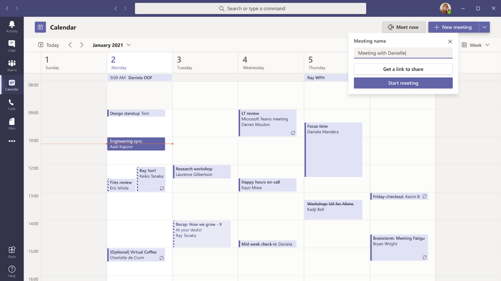 thumbnail image 3 of blog post titled  	 	 	  	 	 	 				 		 			 				 						 							What's New in Microsoft Teams | February and March 2021