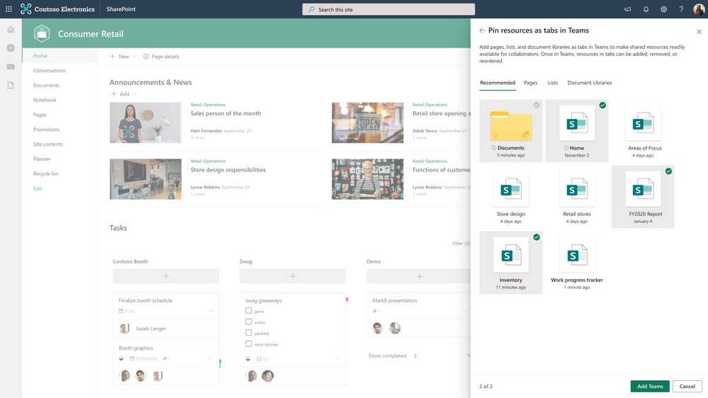 thumbnail image 6 of blog post titled What's New in Microsoft Teams for Education | March 2021